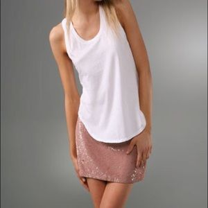 Haute Hippie Sequin Skirt